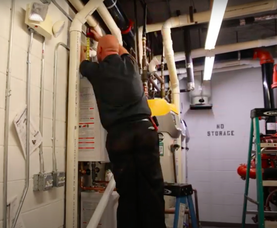 COMMERCIAL WATER HEATER INSTALLATION IN MODESTO