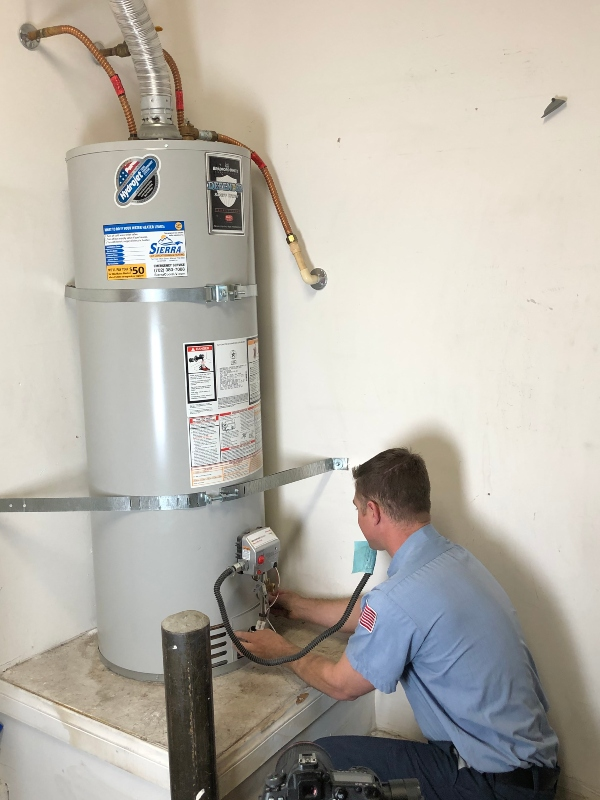 New Water Heater Replacement Installed in a Modesto, CA home