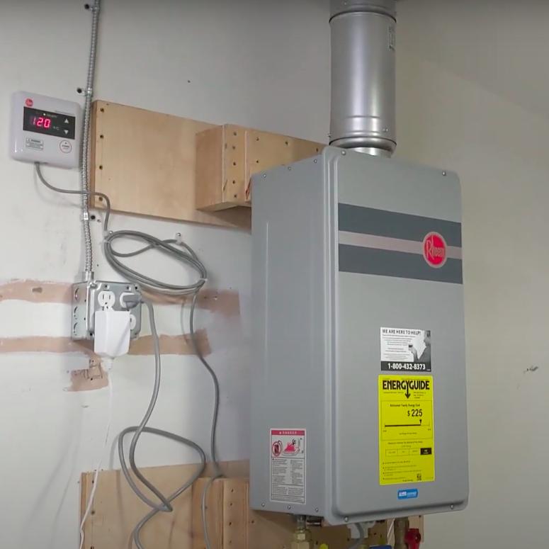 Tankless Water Heater Installation in Modesto